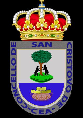 Compañia de luz y gas en San Cristovo de Cea