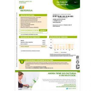 factura-iberdrola-gas
